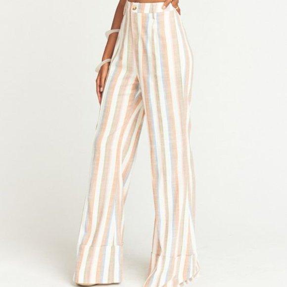 Show Me Your MuMu Pants - Show Me Your MuMu Shorebert Stripe Edison Pants S